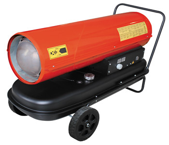 Mobile air heater RPA-30A