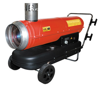 Highly mobile air heater RPO-30B